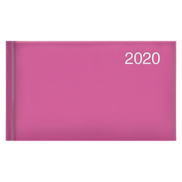 Еженедельник карманный датированный BRUNNEN 2020 Miradur, розовый