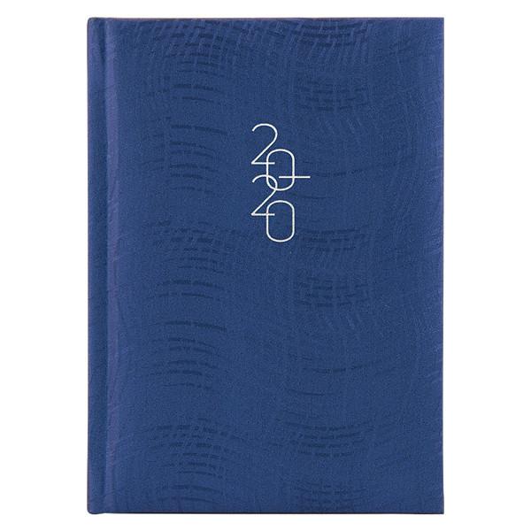 Ежедневник карманный датированный BRUNNEN 2020 Wave синий