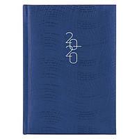 Ежедневник карманный датированный BRUNNEN 2020 Wave синий, фото 1
