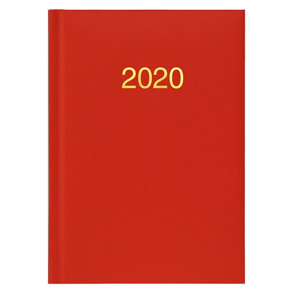 Ежедневник карманный датированный BRUNNEN 2020 Miradur, красный