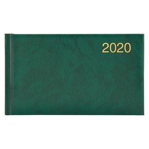 Еженедельник карманный датированный BRUNNEN 2020 Miradur, зеленый