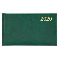 Еженедельник карманный датированный BRUNNEN 2020 Miradur, зеленый, фото 1