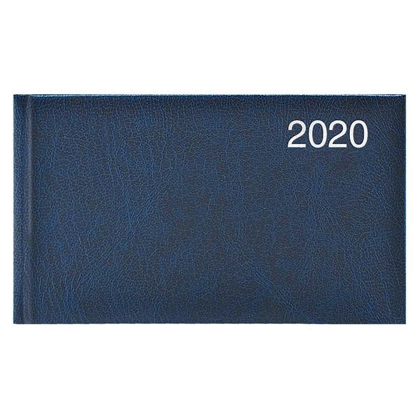 Еженедельник карманный датированный BRUNNEN 2020 Miradur, синий