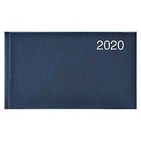 Еженедельник карманный датированный BRUNNEN 2020 Miradur, синий, фото 1