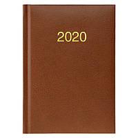 Ежедневник карманный датированный BRUNNEN 2020 Miradur, коричневый, фото 1