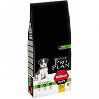 Purina Pro Plan Dog Medium Puppy Optistart Сухой Корм С Курицей, 12 Кг