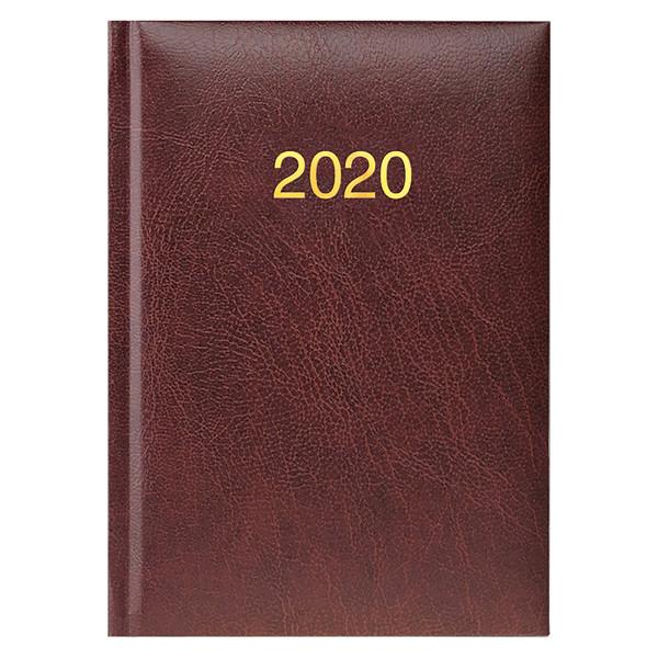 Ежедневник карманный датированный BRUNNEN 2020 Miradur, бордовый