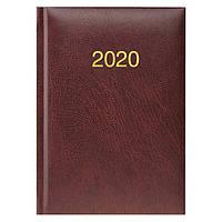 Ежедневник карманный датированный BRUNNEN 2020 Miradur, бордовый, фото 1