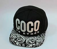Реперка COCO женская чёрная, фото 1