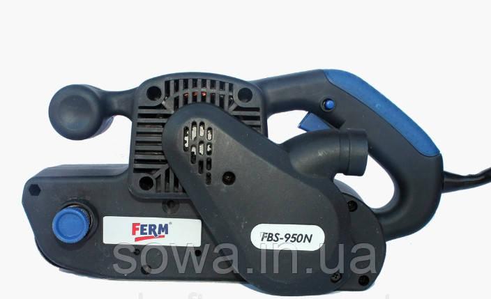 ✔️ Ленточна шлифмашина  FERM FBS-950N . Електрошлифмашинка, Шлифмашина