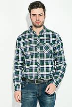 Рубашка AG-0009164 Сине-зеленый