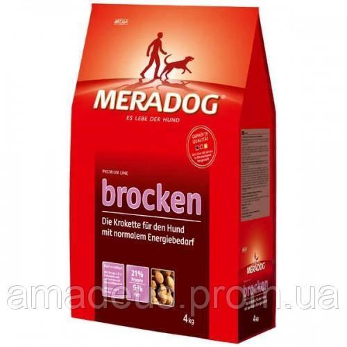Mera Dog Brocken Классический Корм Для Собак С Нормальной Активностью, 4 Кг