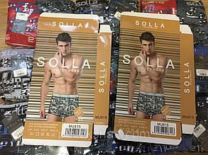 Трусы мужские (815), трусы боксеры 46-52 качественные упакованные Solla