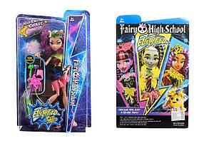 """Кукла """"Monster High""""Electrified"""" 3 вида, с расческой, шарнирные, в кор. /48-2/"""