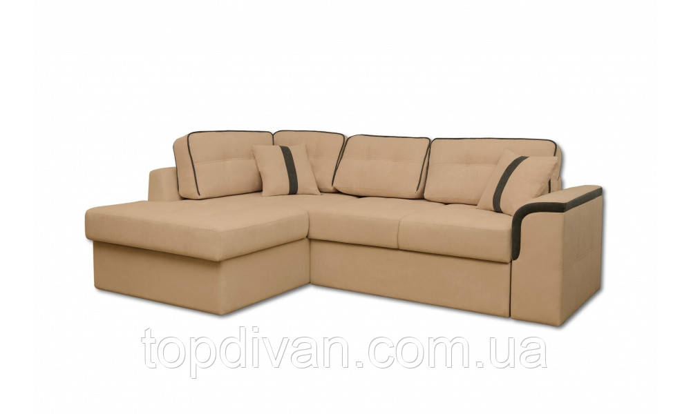 "Угловой диван ""Милан"" ткань 2 (ширина спального 155 см)"