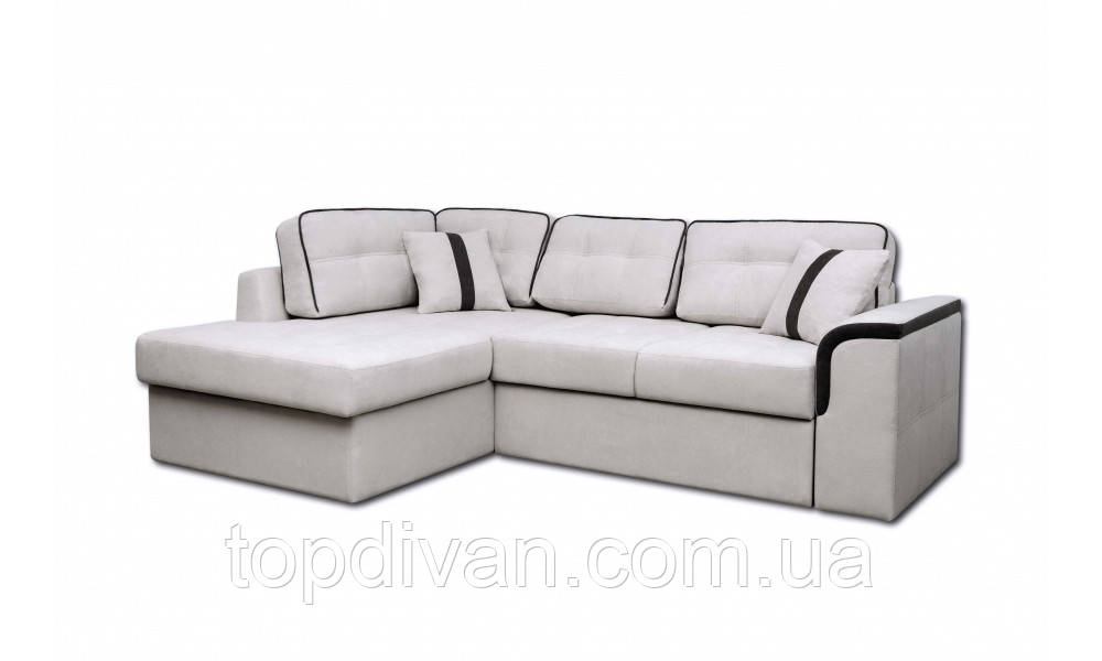 "Угловой диван ""Милан"" ткань 8 (ширина спального 155 см)"