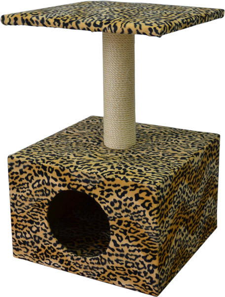Домик с когтеточкой для кошек Перс