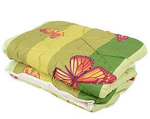 Одеяло ОТКРЫТОЕ овечья шерсть (Поликоттон) Двуспальное Евро T-51247