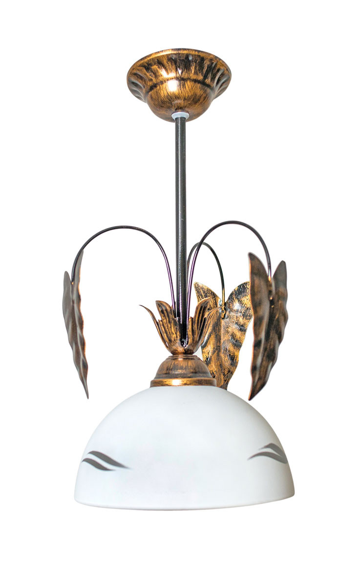 Люстра подвес флористика 5903 средний