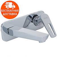 Смеситель для раковины скрытый монтаж Imprese Breclav VR-05245 хром