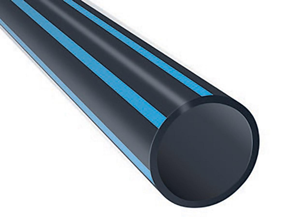 Труба ПНД 50мм черная техническая