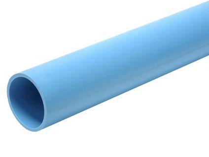 Труба ПНД 40мм голубая пищевая 6 бар