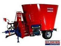 Кормосмеситель Большой класс SILOKING Premium 9 м3 – 16 м3 / 1 турбо-шнек от molochka.com