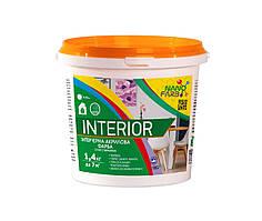 Нанофарб Interior фарба внутр. сух. стирання - 1,4 кг
