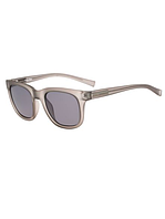 Женские серые матовые солнцезащитные очки Calvin Klein