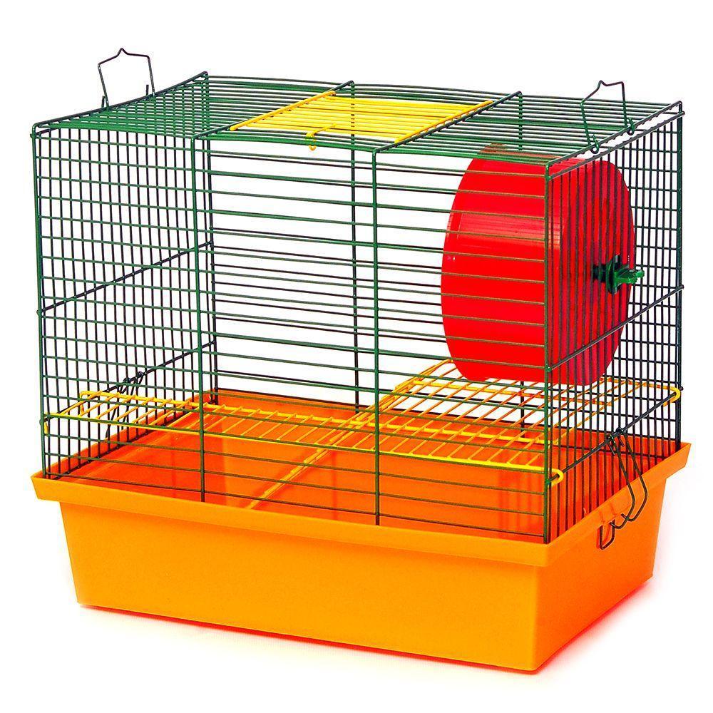 """Клетка для грызунов """"Хомяк 2""""(330х230х290)"""