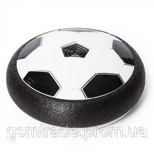 Футбольный мяч с подсветкой и музыкой Hoverball Black
