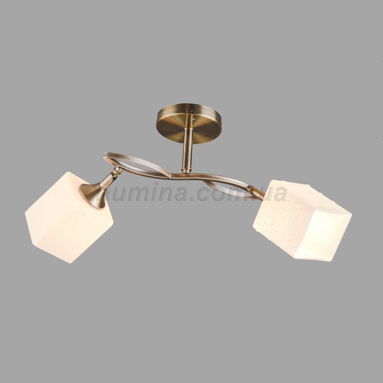 Люстра потолочная на две лампы 3-N3500/2 AB