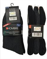 Теплые зимние термоноски HOMBRE (Германия), носки средней длины, 3 шт./упаковка, Размер 42-46