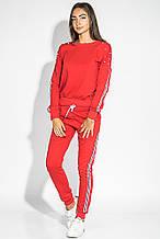 Костюм спорт женский приспущенное плечо AG-0006864 Красный