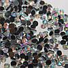 Стразы ss16 Crystal AB(3,8-4мм) горячей фиксации.200gross/28.800шт.Корея. Стекло.