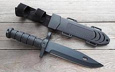 НОЖ армейский охотничий тактический Columbia USA Спецназ 1318А +пластиковый чехол, фото 2