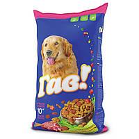 Гав! Сухой корм для взрослых собак с мясным ассорти, 3 кг