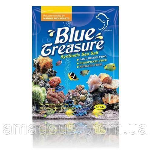 Blue Treasure Рифовая Соль Для L.p.s. Кораллов 6,7 Кг
