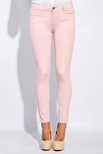 Брюки женские стильный крой, летние  AG-0005577 Розовый