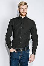 Рубашка классическая деловая AG-0005424 Черный