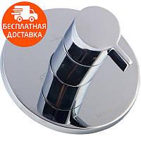 Запорный/переключающий вентиль (3 потребителя) Imprese Zamek VR-151031 хром, фото 1