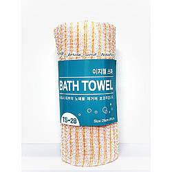 Пилинговая губка-полотенце жесткая Tamina Easy-Well shower towel