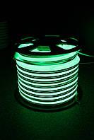 Уличный световой шнур Lumion 220V SMD NEON FLEX 15*26мм, 81 светодиода/м.п., 50м/ рул цвет зеленый