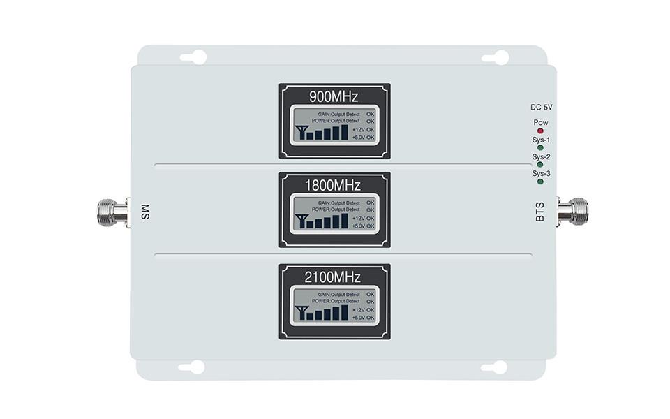 GSM репитер Lintratek KW20L-GDW (усилитель сигнала на частотах 900, 1800, 2100), фото 1