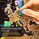 Распродажа! Скретч карта, My Map Black Edition, подарок для путешественников, Silver, ENG, фото 7