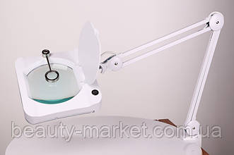 Лампа-лупа настольная LS-6018 LED, 3+12 диоптрий