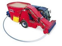 Самоходный кормосмеситель вместимостью 10м³ — 30м³  1-2 турбошнека от molochka.com
