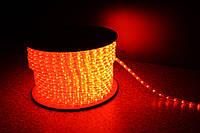 Уличная светодиодная лента Lumion Led Duralight 2-х жильная 240V. d=10мм. 2.77см 36диодив/м.100м/Цвет красный