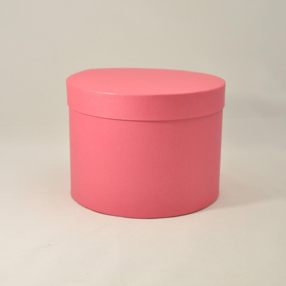 Картонная коробка Круг под цветы 200*150 мм
