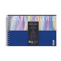 Альбом для акварелі на спіралі Watercolor A6 (13.5х21см), 300г/м2, 12л, Fabriano